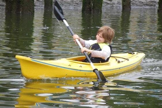 Wheeler on the Bay Kayaking